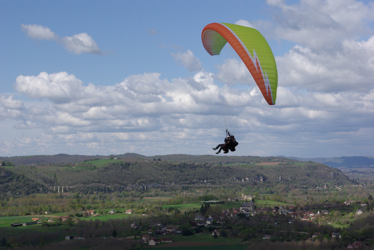 Parapente-Lot-Biplace-Vallée-Dordogne-2