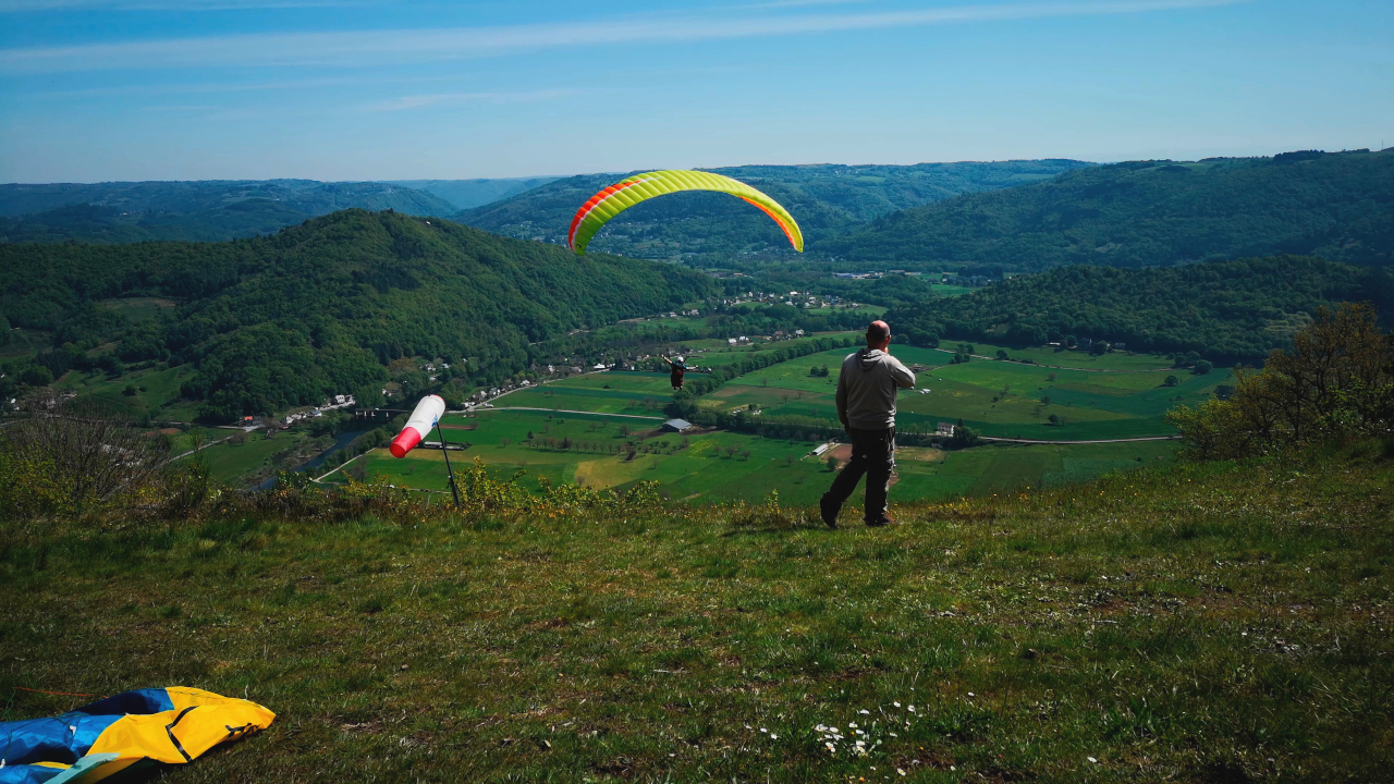 Parapente Corrèze Argentat Bros 1