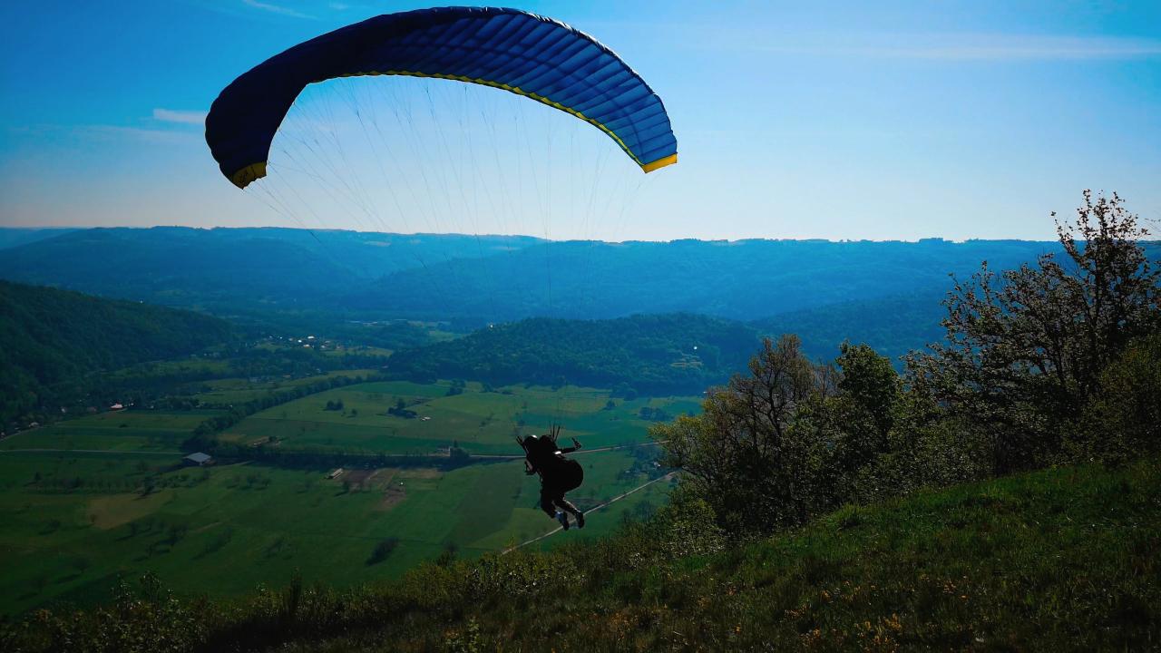 Parapente Corrèze Argentat Bros 3