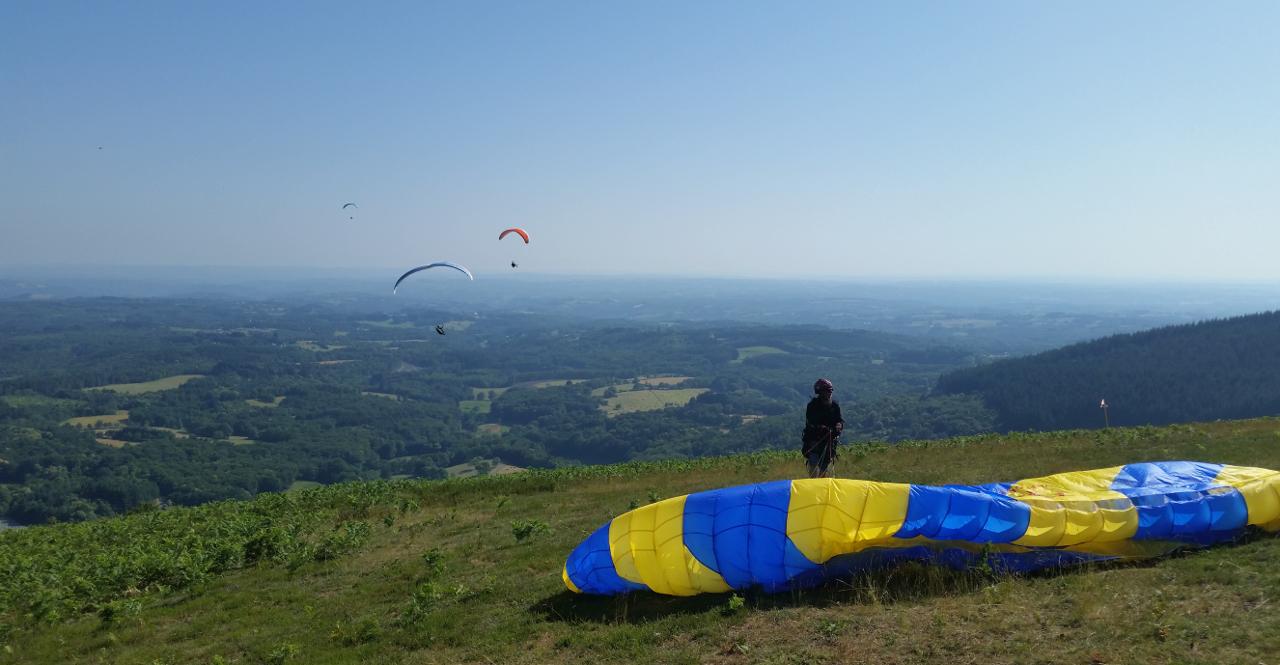 Parapente-Lot-Corrèze-Dordogne-Monédières