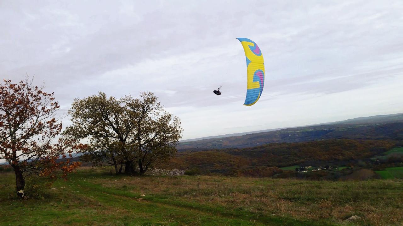 Parapente Lot Martel Mont Mercou