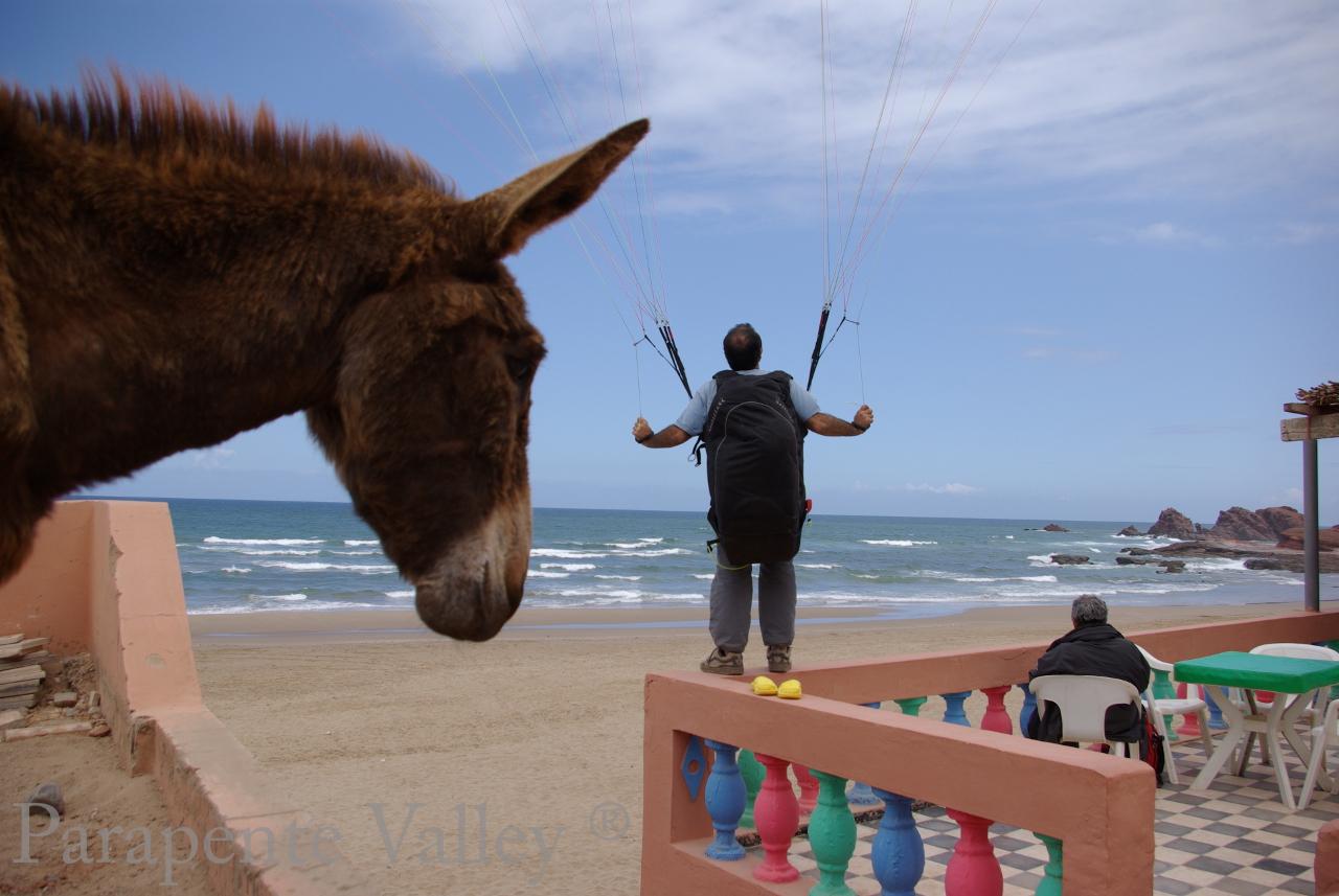 Parapente Lot Legzira Maroc 3