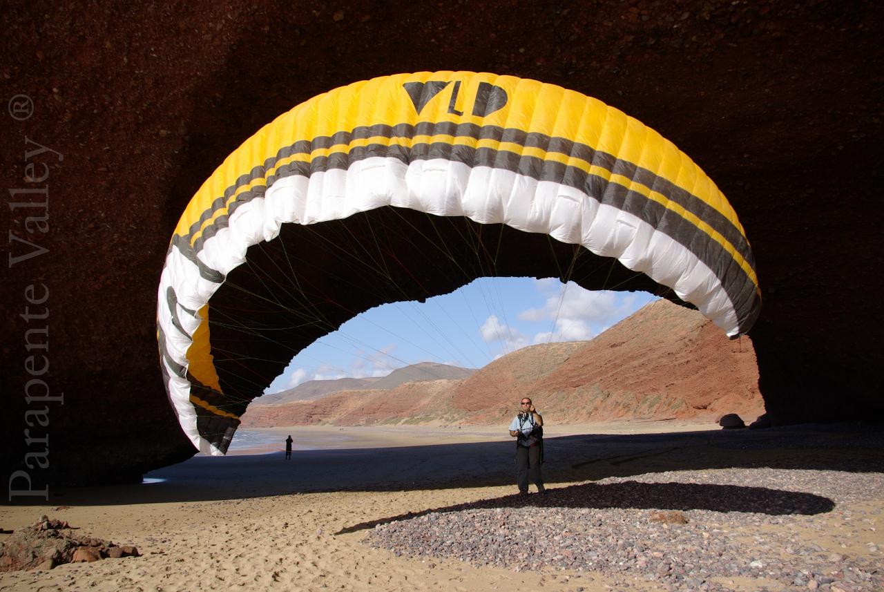 Parapente Lot Legzira Maroc 5
