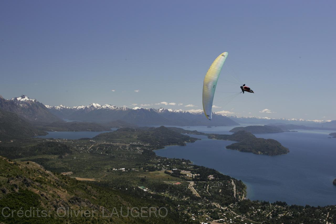 Parapente Lot Bariloche Patagonie 2
