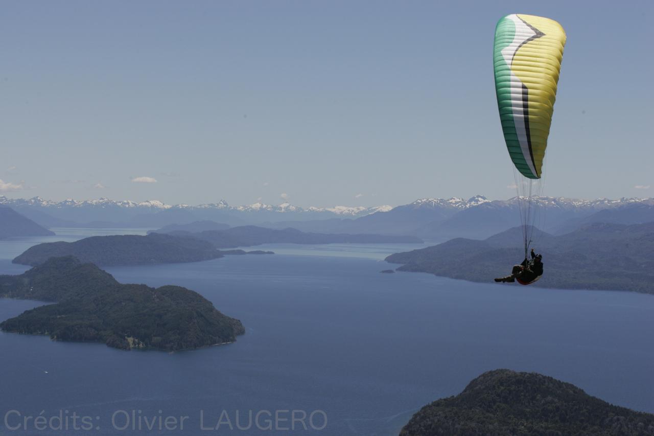 Parapente Lot Bariloche Patagonie