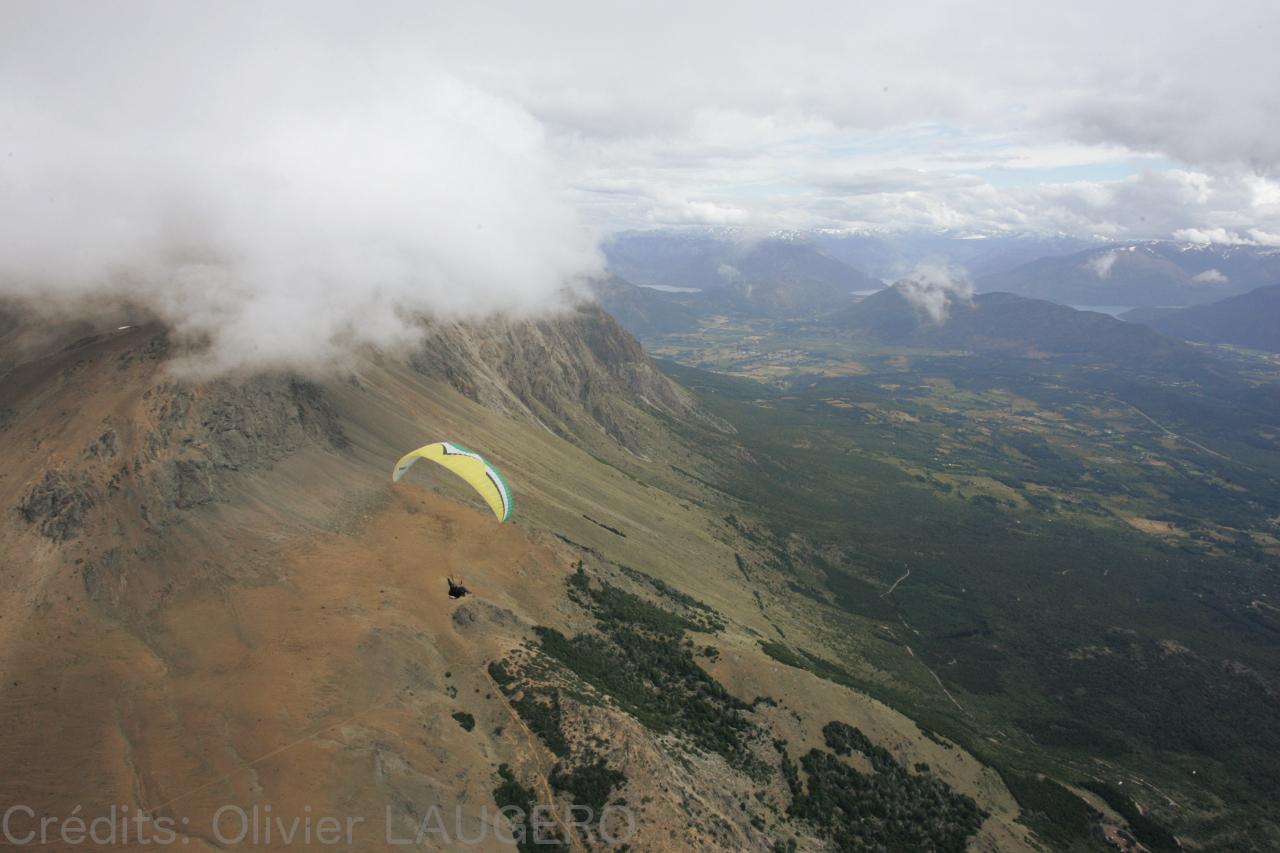 Parapente Lot El Bolson Patagonie