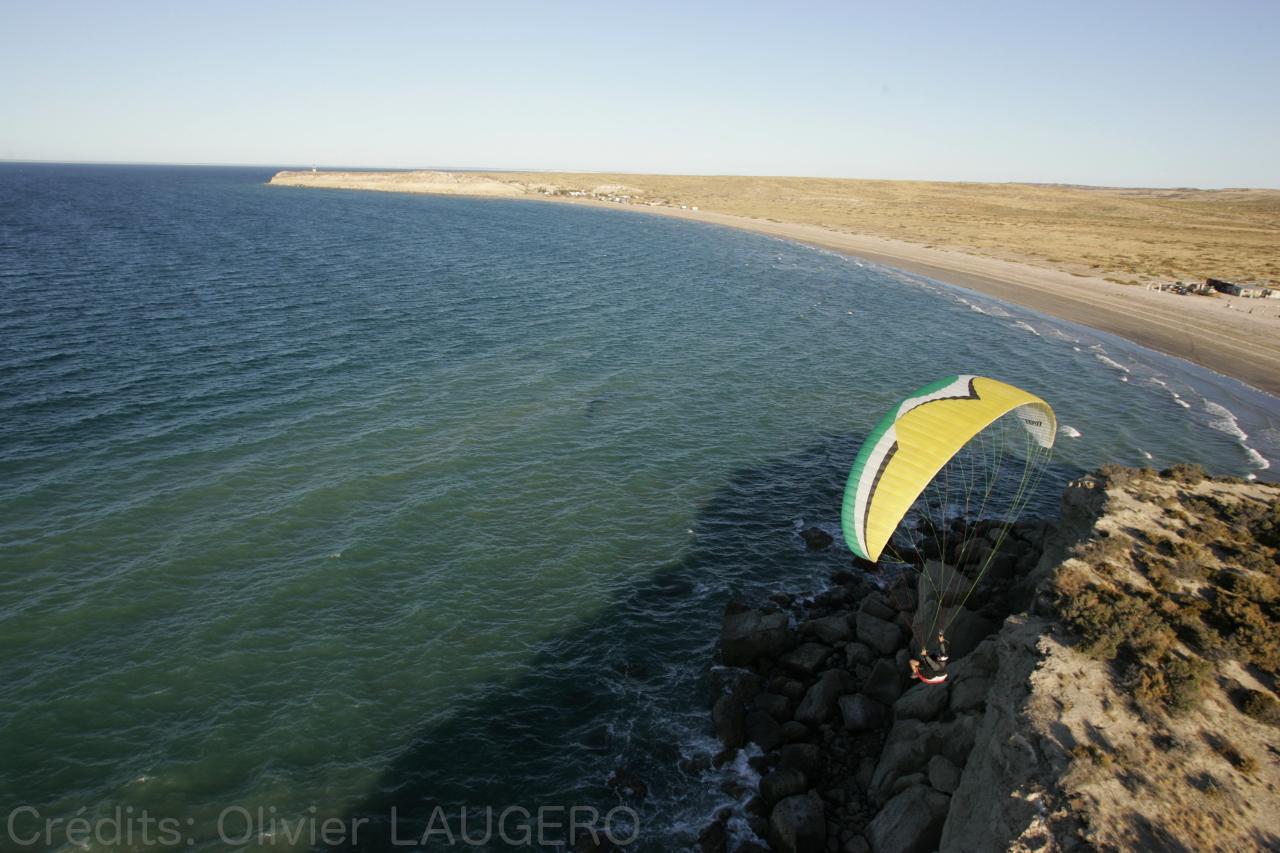 Parapente Lot Péninsule de Valdes Patagonie 2